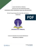 Download Soal Ujian UT PGPAUD PAUD4102 Metode Pengembangan Moral Dan Nilai-nilai Agama