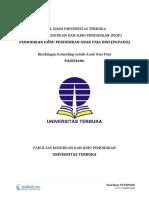 Download Soal Ujian UT PGPAUD PAUD4406 Bimbingan Konseling Untuk Anak Usia Dini
