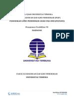 Download Soal Ujian UT PGPAUD PAUD4303 Manajemen Pendidikan TK