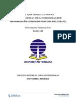 Download Soal Ujian UT PGPAUD PAUD4402 Keterampilan Musik Dan Tari