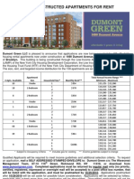 NYC Affordable Housing Dumont Green East New York Brooklyn