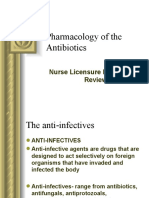 Pharmacology - Antibiotics