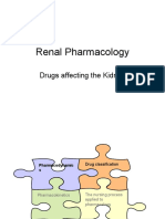 Pharmacology - Kidney Drugs