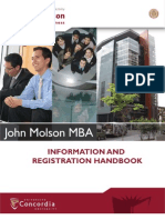 Jmsb Mba ion Handbook 2010-2011