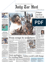 The Daily Tar Heel for October 5, 2010