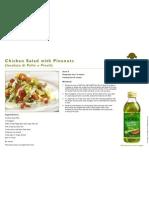 Chicken Salad With Pinenuts