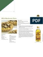 Wild Musroom Tarts