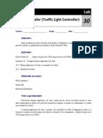 Simularea Unei Intersectii Semaforizate Folosind VHDL