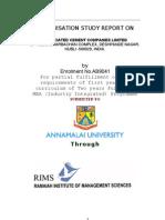 Organizational Study by Swapnil