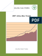 2007 Africa Rice Trends 5th Edition