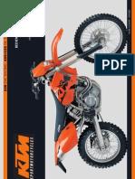 Bedienungsanleitung KTM 250-450-525 EXC -SX -MXC -EXC Racing 2003