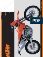 Bedienungsanleitung KTM 400 - 520 SX -MXC -EXC Racing 2001