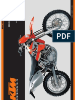 Bedienungsanleitung KTM 400 - 530 SX -EXC Racing 2000