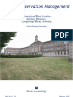 University of East London, Barking Campus, Greater London- Building recording