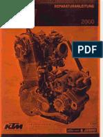 Reparatursanleitung KTM 400-520 SX EXC Racing (German)