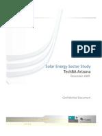 Solar Sector Study TechBA AZ FV Jan 2010
