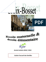 2018-2019 Ecole Croix Bosset Guide Long