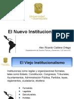 El Nuevo Institucionalismo 1