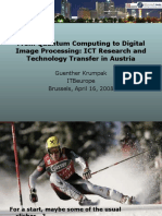 From Quantum Computing to Digital Image Processing