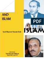 Bhutto Zia and Islam, by Syed Mujawar Hussain Shah