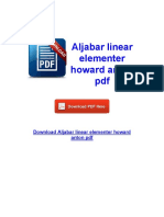 Elementer aljabar download ebook linear