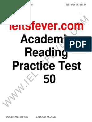 ieltsfever-academic-reading-practcie-test-50-pdf pdf | Malaria