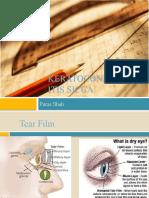 Keratoconjunctivitis Sicca Final