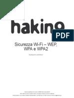 Sicurezza WEP, WPA e WPA2