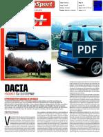 "DACIA DOKKER STEPWAY TCe 115 NO ""AUTOSPORT"""