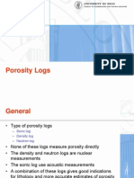 Oslo - Porosity Logs