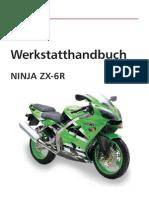 Werkstatthandbuch Kawasaki Ninja German)