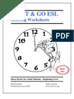 Esl eBook Worksheets