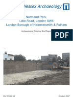 Normand Park, Lillie Road, London Borough of Hammersmith and Fulham