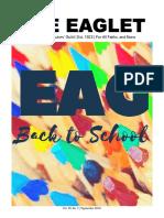 The Eaglet   Vol. 30, No. 3   Sept. 2018