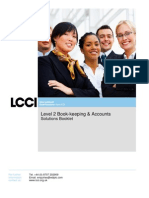 L2 Passport to Success Solutions L2 Book-Keeping & Accounts V2