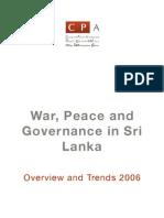 War Peace Governance