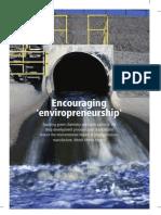 Encouraging 'Enviropreneurship'