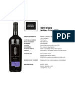 Don Diego Malbec 2009