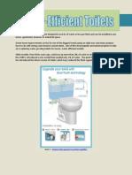 Technical Description - Water-Efficient Toilets
