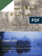 Agusan Marsh Brief History