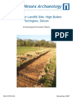 Deep Moor Landfill Site, High Bullen, Torrington, Devon
