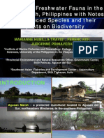 Inventory of Freshwater Fauna in the Agusan Marsh, Philippines With Notes on Introduced Species and Their Impacts on Biodiversity