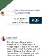 Heavy Metals Contamination in Davao Region