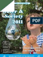 Water Society 2011