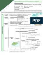1.1 Esquema-guión. Historia geológica y relieves morfoestructurales.