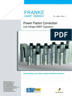 Catalogue-FRANKE GMKP LV Power Capacitor