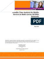 Standby Time WCDMANetworks Web