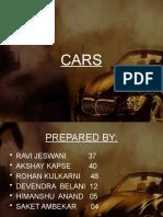 Cars Final Ppt It