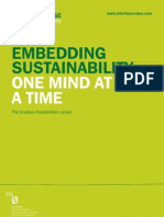 Embedding Sustainability
