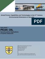 German Army Peak Oil Study